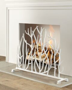fire place cover 2